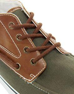 ASOS Chukka Boots With Moc Toe