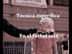 Futsal - Técnica específica fútbol sala | Futsal technique Soccer Ball, Youtube, Football, Sports, Drills, Training, Soccer Drills, Football Tricks, Libros