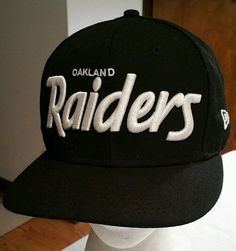 7550a48fab3 Oakland Raiders Snapback Wool Hat Cap NFL Football New Era 9Fifty Los  Angeles