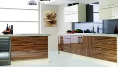 High Gloss Wood Kitchen High Gloss Wood Kitchen Door Range Modern