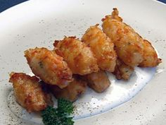 Salmon Rice Fritters recipe from Robert Irvine via Food Network