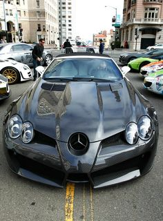 Mercedes SLR by Mansory