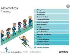 MATEMÁTICAS PRIMERO: RECURSOS GENERALES | Recursos para Primer Ciclo