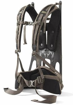 The patent-pending 13 ounce Icon is the world's first molded carbon fiber backpack frame. Carbon Fiber is twice as strong as steel and half the weight of aluminum, making it the perfect material for applications where strength to weight ratios are critical. This frame is engineered with vertical stiffness for heavy load carrying, and horizontal flexion for a frame that moves with you to maximize comfort and mobility. Inset waist belt pivot and independent shoulder pad adjustment allow for a…