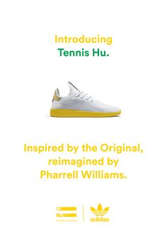 1806d056e91 adidas Tennis Hu  Pharrell s First Signature Sneaker