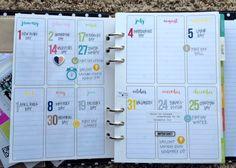 Carpe Diem Planner Year At A Glance Spread - Scrapbook.com