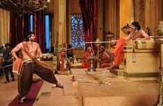 Exclusive! Never Seen Before #Bahubali #SetImages