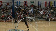 WC 2013  in Wheel Gymnastics Junior men straight line Final Marvin Homey...
