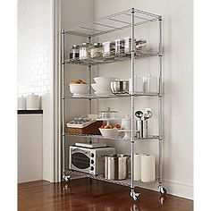 1000 Images About Kitchen Rolling Rack Ideas On Pinterest