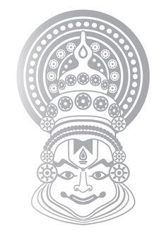 Kerala Mural Painting, Indian Art Paintings, Madhubani Painting, Canvas Paintings, Watercolor Paintings, Art Drawings Beautiful, Art Drawings Sketches Simple, Mandala Design, Mandala Art