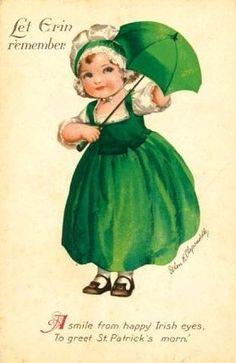 Vintage st. Patricks day postcards | Vintage Images: St. Patrick's Day postcards | Art - Greetings