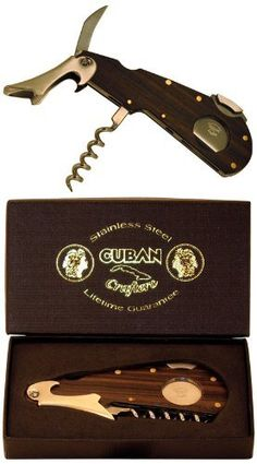 Cigar Tool / Cutter / Wine Opener / Saw Blade - New by Dos Caballos Cigars. $7.98. This revolutionary cutter has a guillotine cigar cutter, a wine opener and a saw blade for those that prefer to cut their cigars the old fashioned way, with a knife.. A Multi Tool cigar cutter that does it all.. A Multi Tool cigar cutter that does it all. This revolutionary cutter has a guillotine cigar cutter, a wine opener and a saw blade for those that prefer to cut their cigars the old fa...