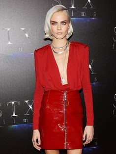 Tracing Hollywood's Blonde Buzz Cut Trend: From Cara Delevingne to Katy Perry