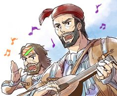 Bard song by Hinoe-0 on DeviantArt