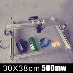 220.00$  Buy now - http://ali4rw.worldwells.pw/go.php?t=32626807248 - DIY laser engraving equipment 500mw mini laser engraving machine laser cutter small business equipment engraving area 30 * 38cm