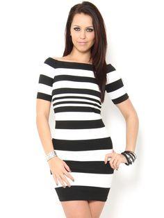 Seamless #Striped #Dress