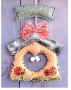 Fabric bird house