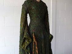Victorian-Era Dress, Made With 1,000 Beetle Wings, Restored for £50,000
