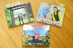 How we save over $100 a year by making annual family yearbooks instead of printing photos and using old school albums (which are also bulkier & harder to store) | Young House Love