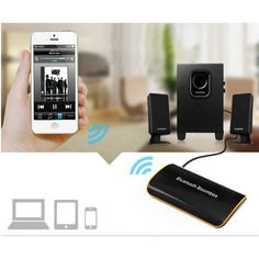 2017 Newest B2 Wireless Car Bluetooth Transmitter Receiver with 3.5MM AUX Audio Stereo BT 4.1 Bluetooth Audio Music Receiver