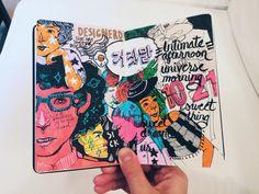 New year new sketchbook Deborah Lee