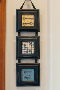 could be cute with favorite paper in frames...