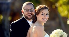 Beautiful #wedding #portrait of the #bride and the #groom by #DominoArts #Photography (www.DominoArts.com)