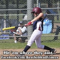 See more softball pictures and videos at facebook.com/bestsoftballvideos.