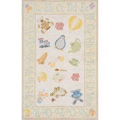 @Overstock - Momeni 'Lil Mo Classic Toys' Yellow Cotton Rug - A pattern of classic children's toys lends a playful look to this 100-percent soft cotton rug.  This beautiful rug features cut-loop construction which gives the motifs a high/low effect and added texture.    http://www.overstock.com/Home-Garden/Momeni-Lil-Mo-Classic-Toys-Yellow-Cotton-Rug/7334621/product.html?CID=214117