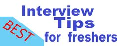 best interview tips for freshers