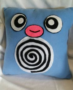 Poliwag pokemon pillow