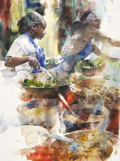 Stephen Zhang WATERCOLOR