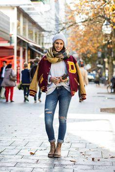 Latest Fashion Hilfiger Denim Varsity Street Style 2013-Berlin & Dusseldorf: Hilfiger Denim has been on the hunt for the finest varsity street style 2013-14 across Germany, visit their top look…