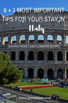 During my visit to Italy there were many things that surprised me about the way things are. Many of them I wished to know before going to Italy – to avoid the confusion. This post will be helpful especially for first time Italy travelers.
