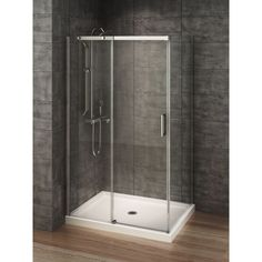 Genial Ove Decors Breeze Chrome Acrylic Wall And Floor Round 4 Piece Corner Shower  Kit (Actual: 76 In X 31 In X 31 In) | Home Decor | Pinterest | Corner Shower  ...