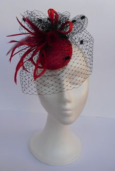 Fascinators headpieces hats  For weddings parties by TocameMika, $140.00