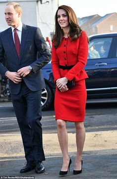 William Duke of Cambridge and Catherine Duchess of Cambridge visit a elementary school in London. February 6 2017