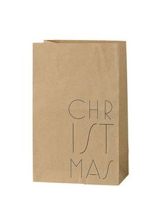Papiertüte Christmas