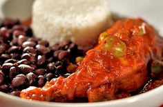"""Pollo al Colmao  ( Kirk McKoy / Los Angeles Times )     SPECIAL, INDEED: Cuban institution El Colmao credits this recipe to """"old grandpa Eduardo Sousa."""" The specialty features tender, slow-cooked chicken stewed in a Creole-style tomato sauce dotted with green olives and peas and spiced with chile powder. Click here for the recipe."""