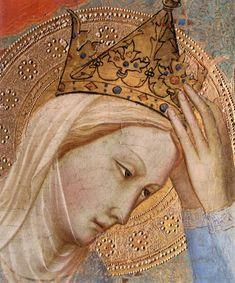 Agnolo Gaddi - Incoronazione della Vergine, dettaglio - c.1380-1385 - National Gallery, London