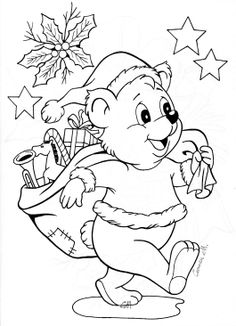 1 Free Coloring, Coloring Pages For Kids, Illustration Noel, Illustrations, Christmas Colors, Christmas Crafts, Christmas Coloring Sheets, Christmas Stencils, Christmas Drawing