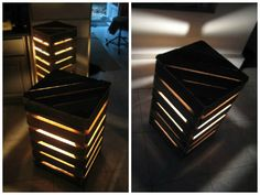 #Light, #RecycledPallet