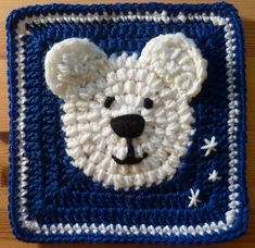 Ravelry: Polar Bear Square pattern by Heather_C Gibbs