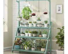 Hanging Bar, Hanging Plants, Hanging Baskets, Potted Plants, Wooden Storage Shelves, Plant Shelves, Bar Shelves, Over The Toilet Ladder, Home Office