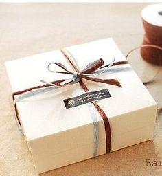 5  14x14x6.5cm Cream Marca dragon box cookie box por livework12, $5.58