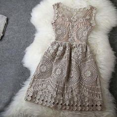Gold Thread Embroidery Nice Dress