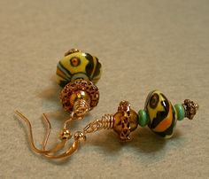 Vintage Chinese Abacus Porcelain Bead by ForeverInStyle on Etsy, $36.00