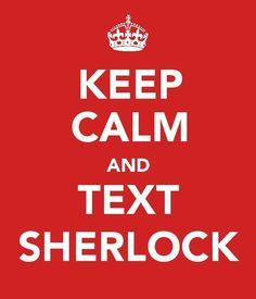 Keep Calm Sherlock