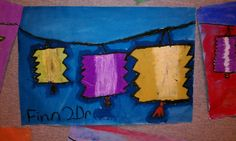 Art Rocks!: 2nd grade Lanterns