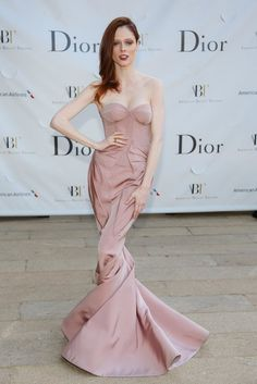 ❦ Coco Rocha wore Zac Posen at the American Ballet Theatre's Opening Night Gala in New York.